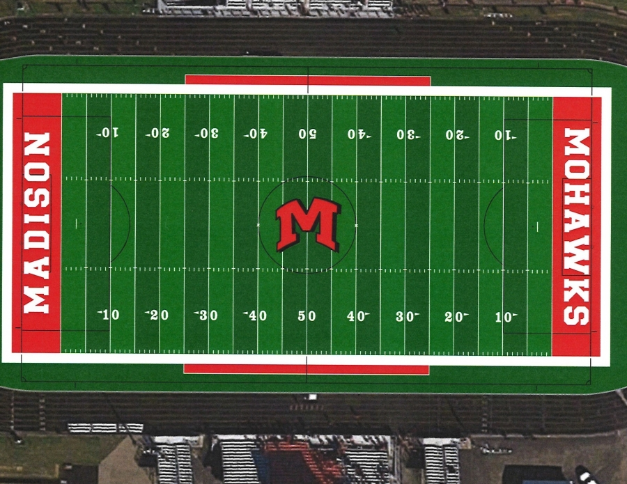 Here is an image of our field turf once the project is completed.